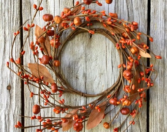 Fall Candle Rings