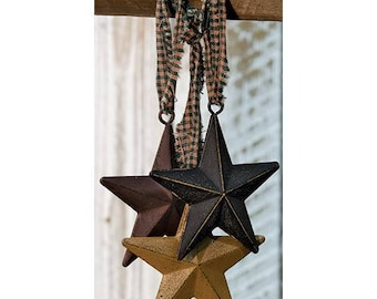 Set of 3 Americana Barn Stars