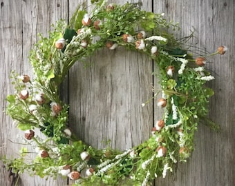 Mini Popping Boll Wreath