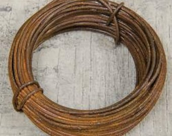 Primitive Rusty Wire in 20 Gauge