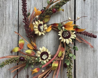 Fall Sunflower Candle Ring