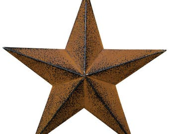 "5.5"" Barn Star with Distressed Finish"