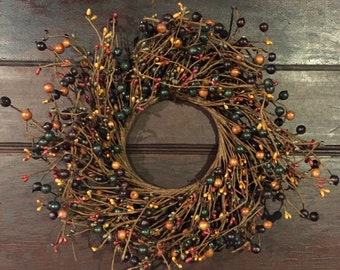 Mulberry Pip Berry Wreath
