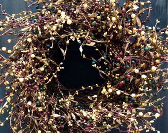 Farmhouse Pip Berry Wreath