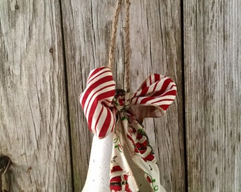 Rustic White Bell