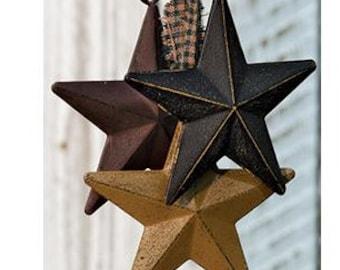 Set of 3 Americana Barn Stars