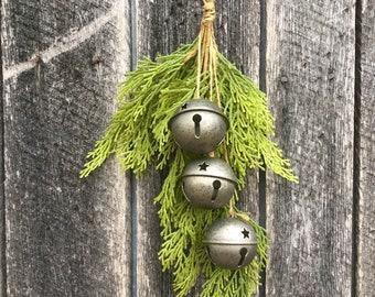 Vintage Bell and Cedar Drop