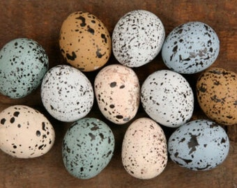 Decorative Speckled Small Eggs