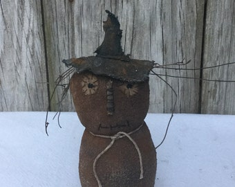 Primitive Scarecrow, Primitive Fall, Fall Decor, Scarecrow Decor, Scented Scarecrow, Primitive Halloween, Rustic Fall, Free Shipping