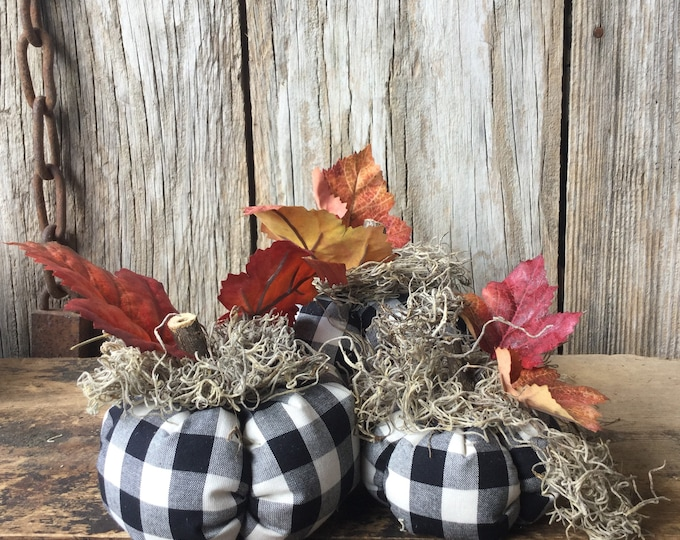 Featured listing image: Scented Fabric Pumpkins
