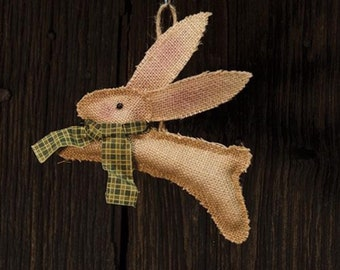 Running Bunny Ornament