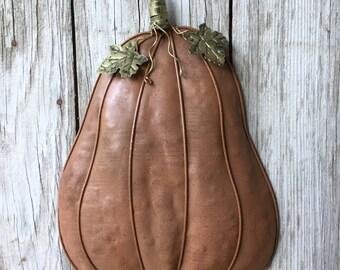 Hanging Mesh Gourd Wreath