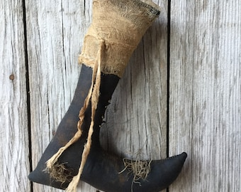 Scented Halloween Witch Boot