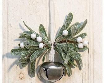 Mistletoe with Jingle Bell Ornament