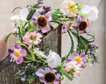Spring Lilac Garden Candle Ring