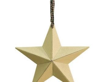 "On Sale 5"" Barn Stars Ornament Set"