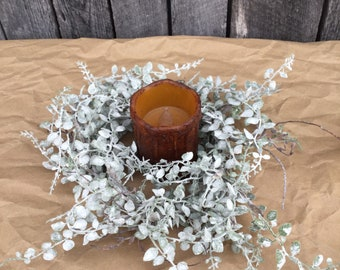 Japanese Peppergrass Candle Ring