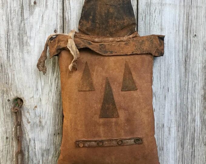 Featured listing image: Primitive Halloween Jack-O-Lantern