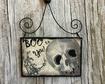 Primitive Halloween Ornaments