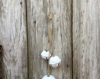 White Snowy Bell Ornament