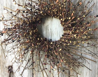 Mulberry Twig Wreath