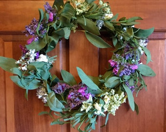 Spirea Mix Wreath