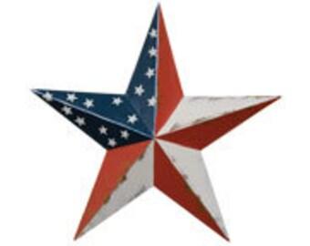 "12"" Americana Barn Star"