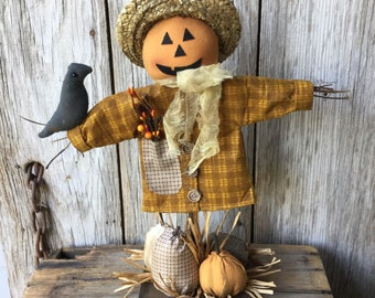 Scented Standing Fall Scarecrow
