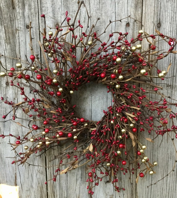Rustic Hanging Heart Twig Wreath Glitter /& Stars Christmas Wedding Decoration