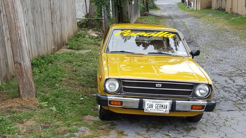 New & Classic Car decals