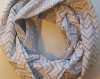 Grey Flannel Infinity Scarf