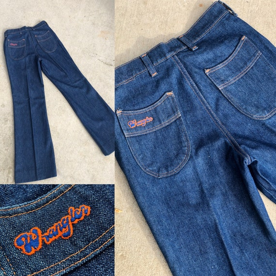 Vintage 1970's Wrangler Jeans Dead Stock