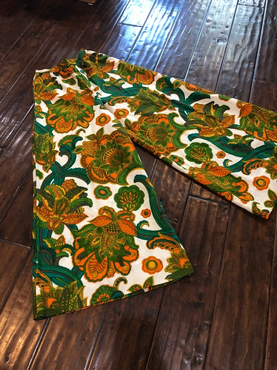Vintage 1960's Wide Legged Pant Palazzo Pant