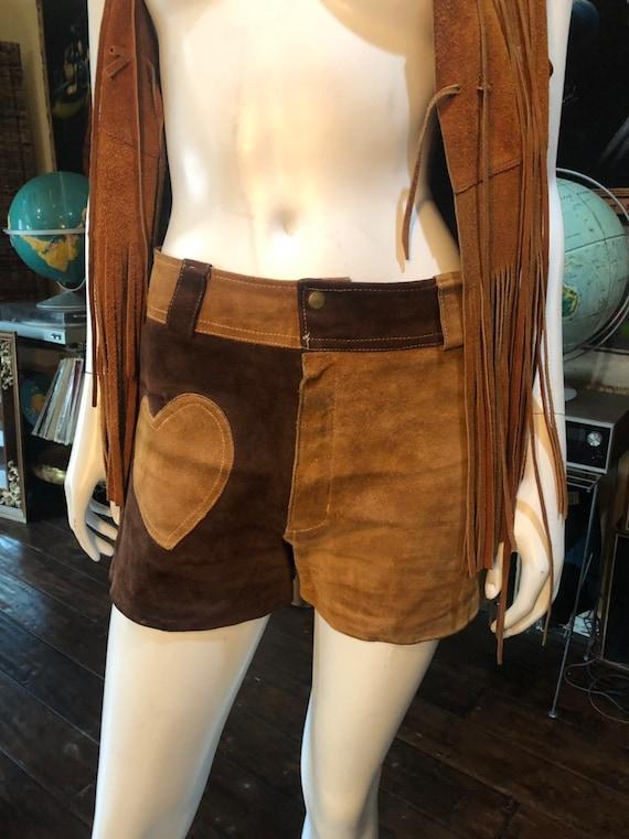 Vintage 1970's Suede Shorts