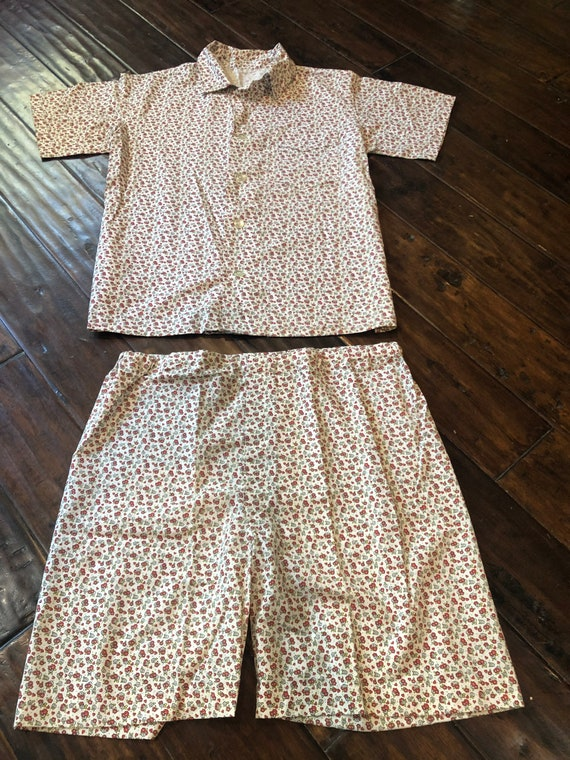 Vintage 1950's Novelty Print Pajamas - image 2