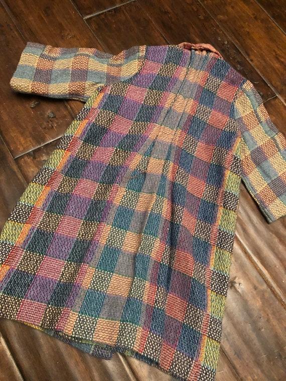 Vintage 1940's Kids Wool Robe/Coat - image 2