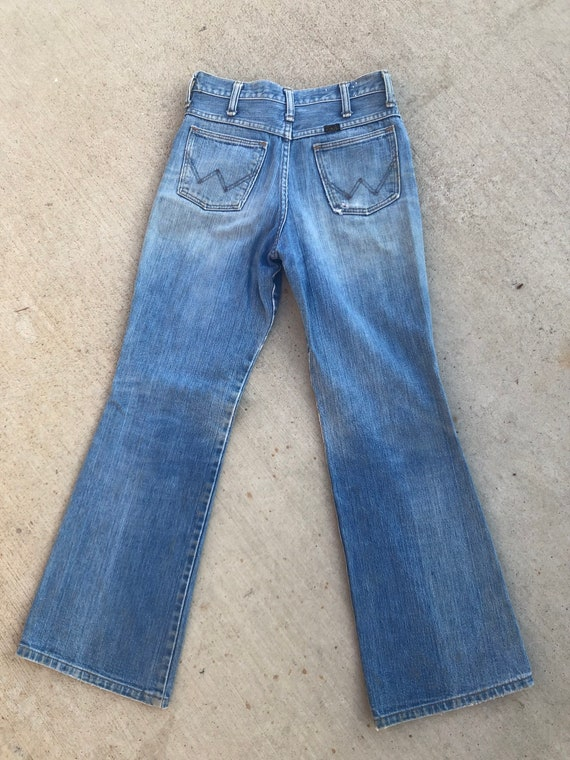 Vintage 1970's Distressed Wrangler Jeans