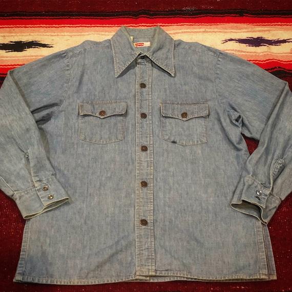 Vintage 1970's Levi's Denim Shirt