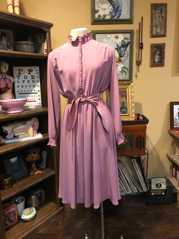 Vintage Lilli Ann Dress 1970's