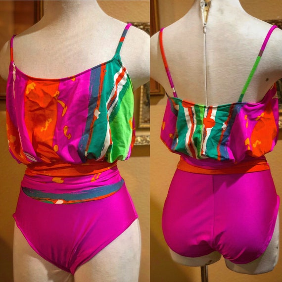 Vintage 1980's Cole of California Swimsuit