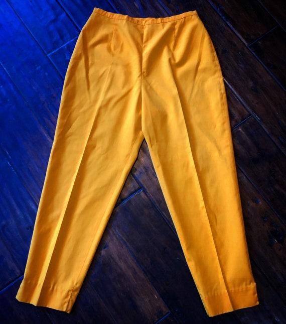 Vintage 1960's Cotton Cigarette Pants