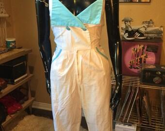Vintage Jumpsuit 1980's