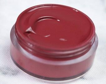 Vegan Lip Gloss : MARTEL Lip Catnip. Brownish red Lip Gloss. Natural lip gloss.Vegan friendly. Lip gloss. Natural makeup.