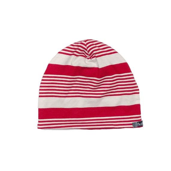 Holiday Red   White Stripe Beanie Baby Beanie Toddler  20c3f62ae0b