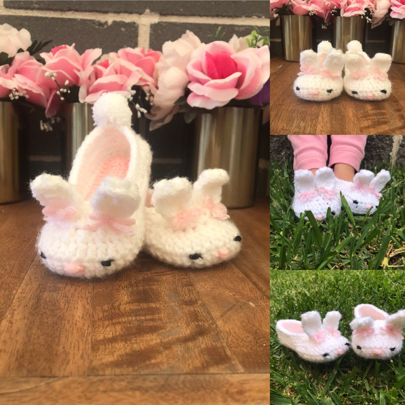Baby Animal Grip Slippers 6-12 Months, Pink