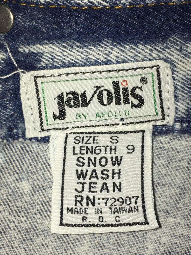 Bibbed Overalls Size Small Vintage Acid Washed Heavy Denim Short-Alls