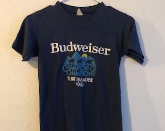 d9762d45f Vintage 1983 Budweiser Beer T-Shirt
