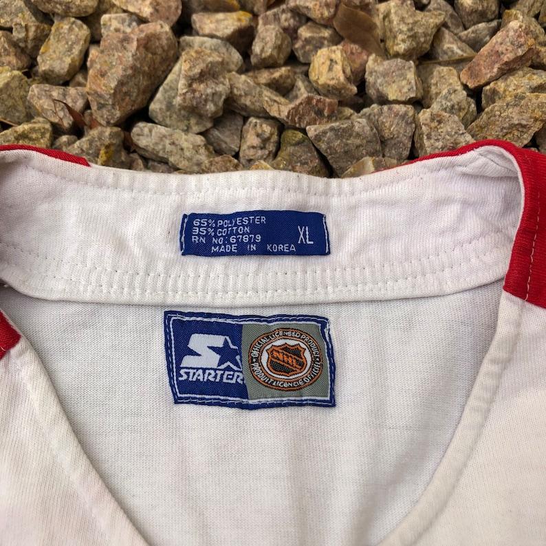 Vintage Chicago Blackhawks Baseball Jersey by Starter