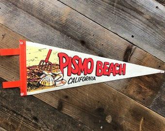 Pismo Beach White Pennant
