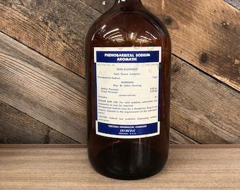Phenobarbital Bottle